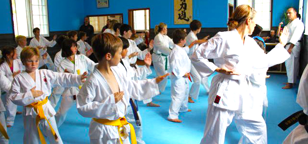 Karate Students Port Perry